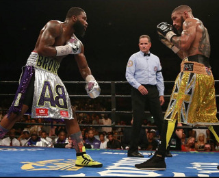 Broner Theophane fight