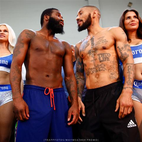 Broner Theophane weigh-in