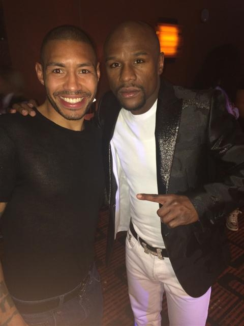 Floyd Mayweather birthday party